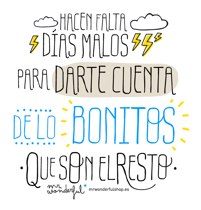 Frases inspiradoras con dise o gr fico Fondos movil mr wonderful