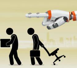 robots empleo humanos
